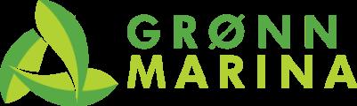 Grønn Marina logo horisontal